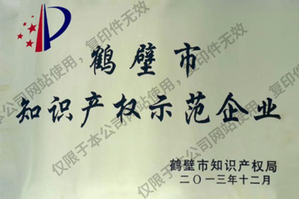 鹤壁市知识产权示范企业